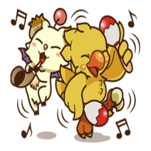 Chocobo - Sticker 26