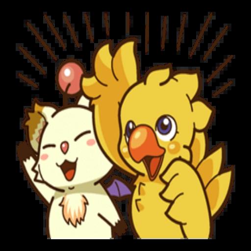 Chocobo - Sticker 17