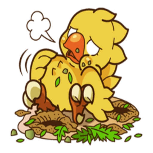 Chocobo - Sticker 29