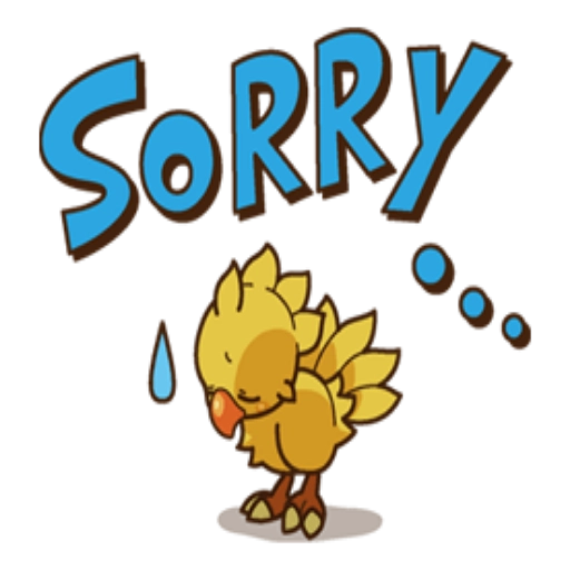 Chocobo - Sticker 5