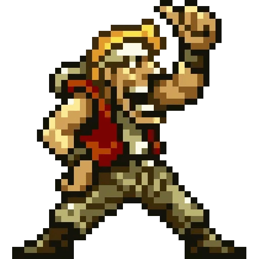 Metal slug 1 - Sticker 1