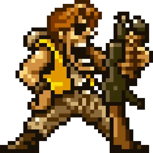 Metal slug 1 - Sticker 2