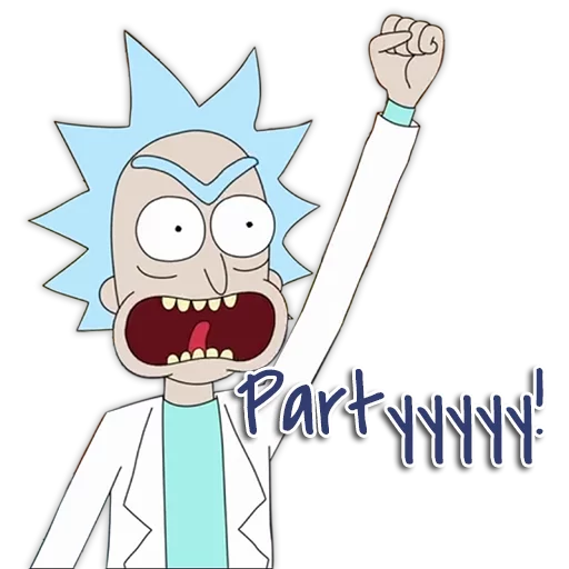 Rick & Morty - Sticker 1