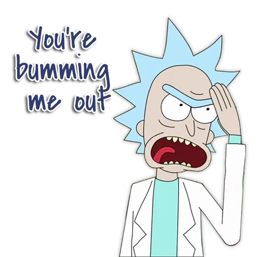 Rick & Morty - Sticker 30
