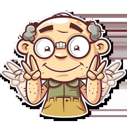 Grandpa - Sticker 7