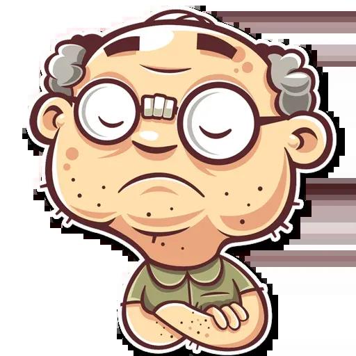 Grandpa - Sticker 22