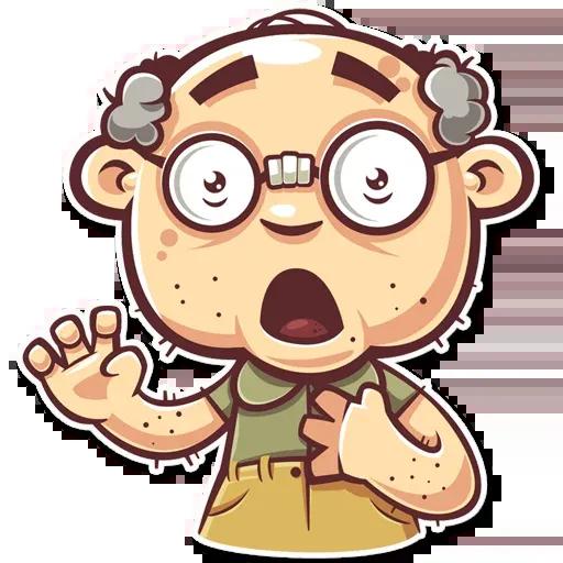 Grandpa - Sticker 6