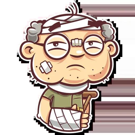 Grandpa - Sticker 28