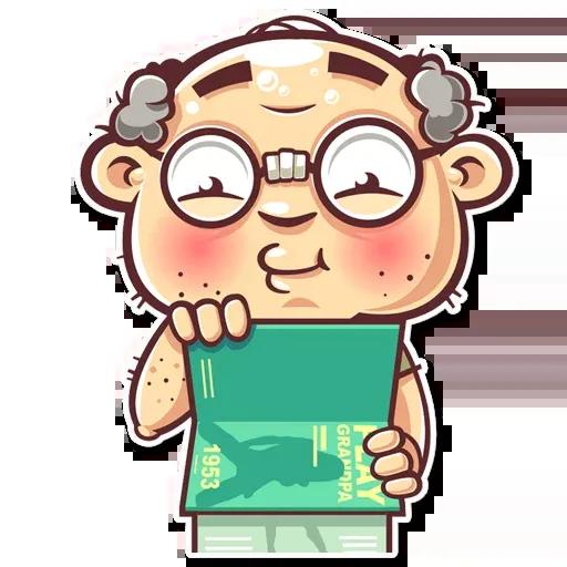 Grandpa - Sticker 18