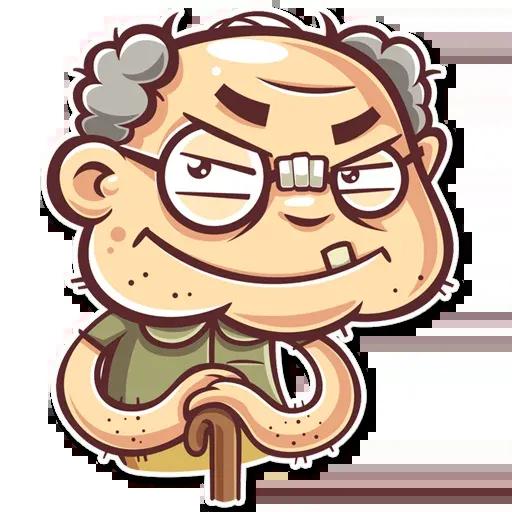 Grandpa - Sticker 5
