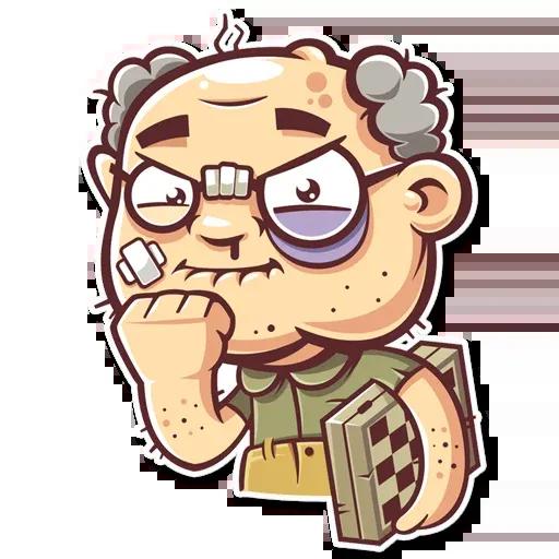 Grandpa - Sticker 23