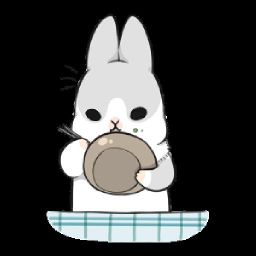 ㄇㄚˊ幾兔12  food - Sticker 7