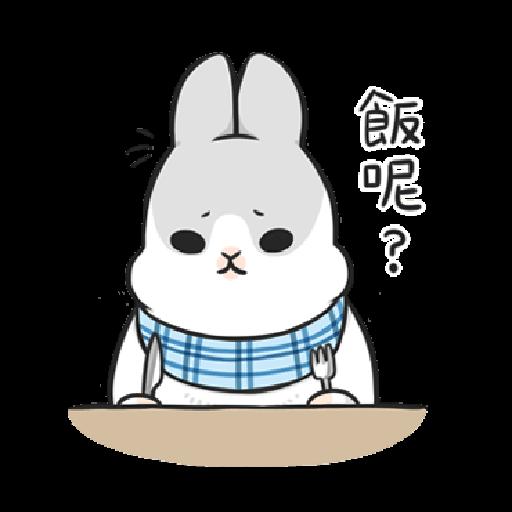 ㄇㄚˊ幾兔12  food - Sticker 17