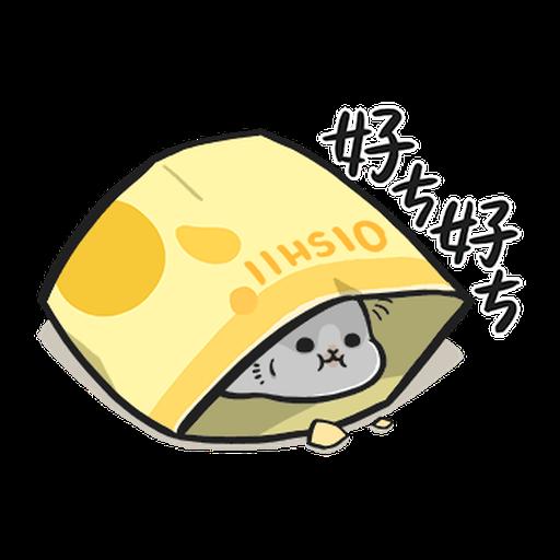 ㄇㄚˊ幾兔12  food - Sticker 19