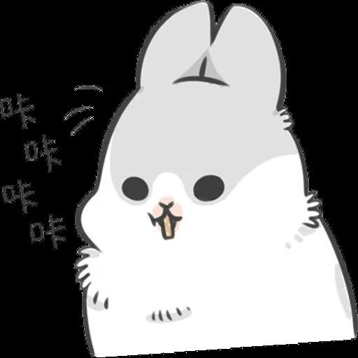 ㄇㄚˊ幾兔12  food - Sticker 27