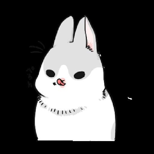 ㄇㄚˊ幾兔12  food - Sticker 6