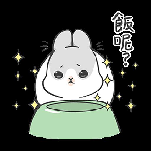 ㄇㄚˊ幾兔12  food - Sticker 22