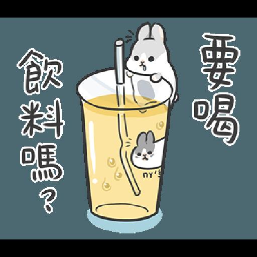 ㄇㄚˊ幾兔12  food - Sticker 11