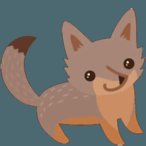 Fox - Sticker 12