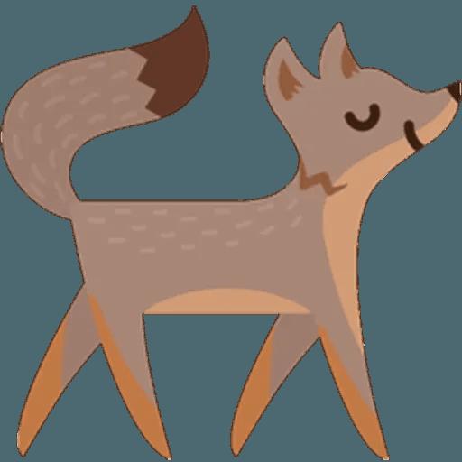 Fox - Sticker 10