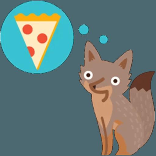 Fox - Sticker 19