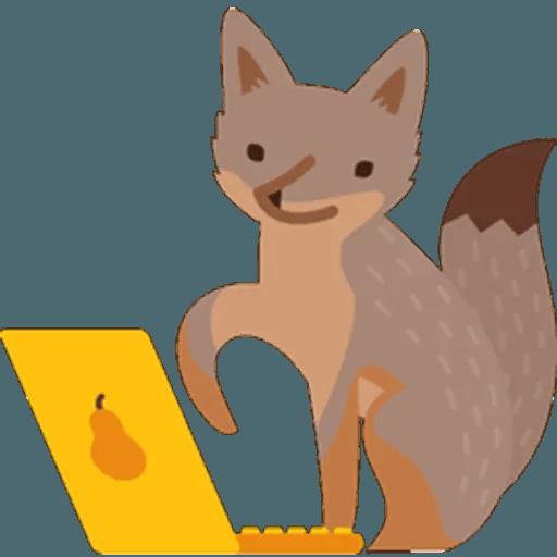 Fox - Sticker 13