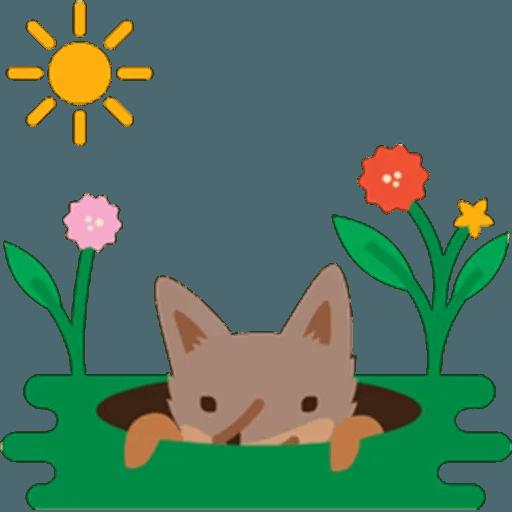 Fox - Sticker 14