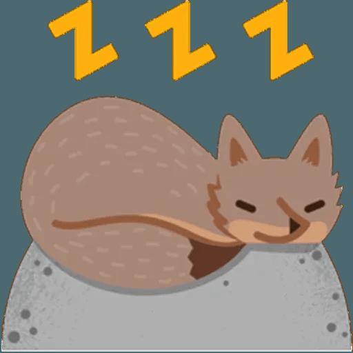 Fox - Sticker 18