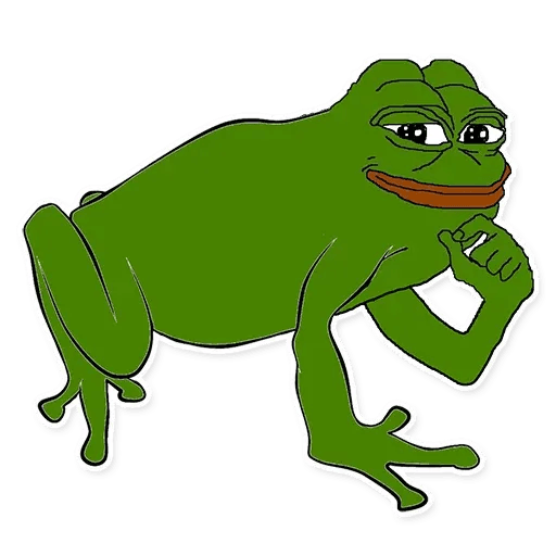 pepe think - Sticker 2