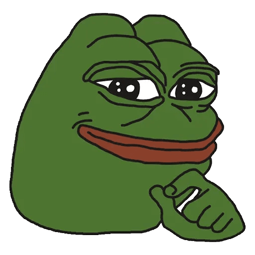 pepe think - Sticker 7