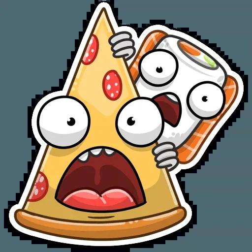 Pizza & Sushi - Sticker 10