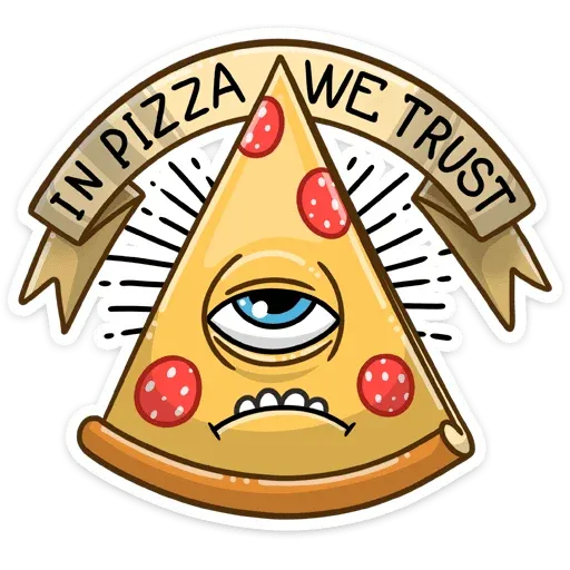 Pizza & Sushi - Sticker 6