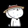 反應過激的貓 - Tray Sticker