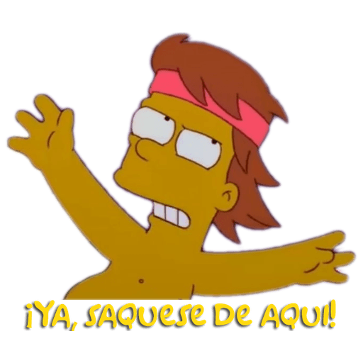 Simpsons - Sticker 22