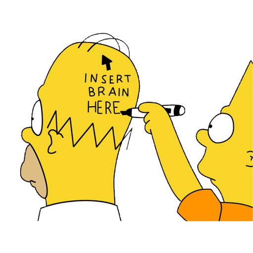 Simpsons - Sticker 5