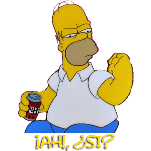 Simpsons - Sticker 12