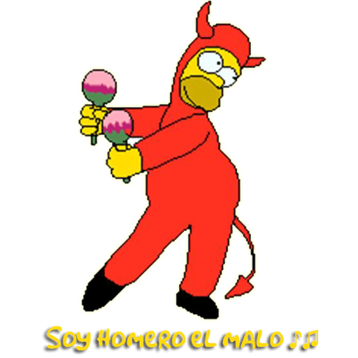 Simpsons - Sticker 8