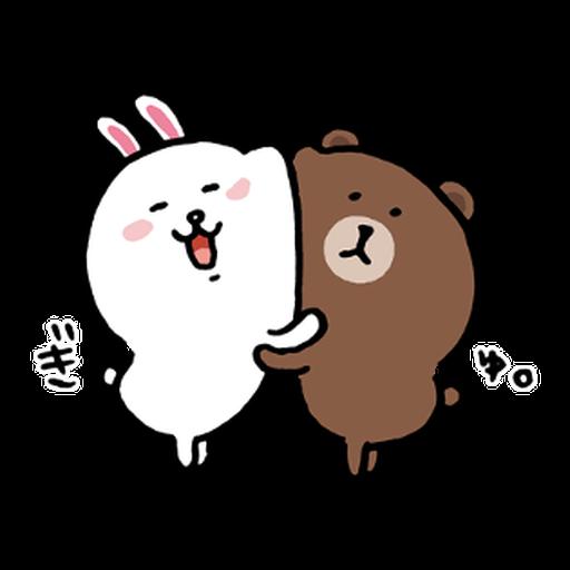BROWN & FRIENDS × nagano - 2 - Sticker 20