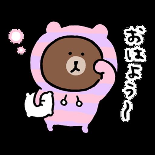 BROWN & FRIENDS × nagano - 2 - Sticker 19