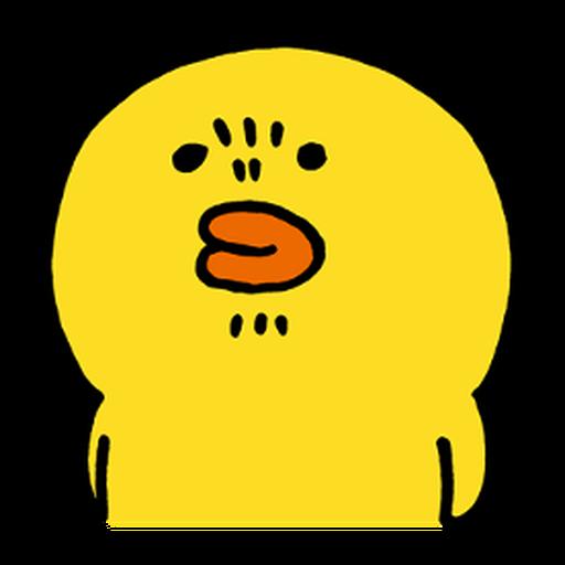 BROWN & FRIENDS × nagano - 2 - Tray Sticker