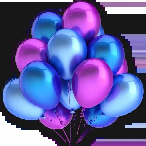 Balloons - Tray Sticker