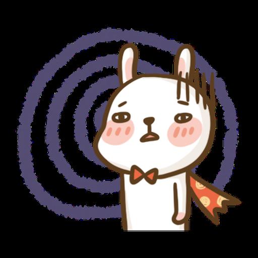 Super Bunny - Tray Sticker