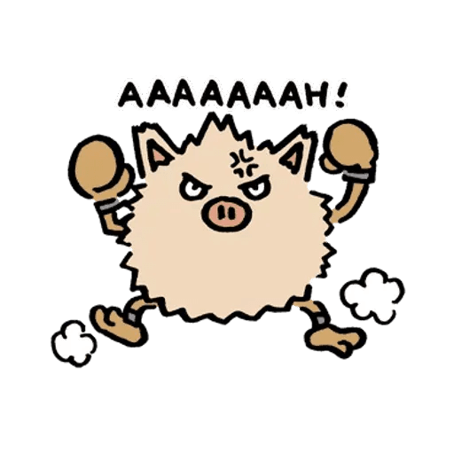 W bear Pokemon - Sticker 23