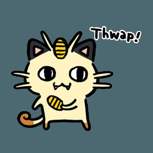 W bear Pokemon - Sticker 9