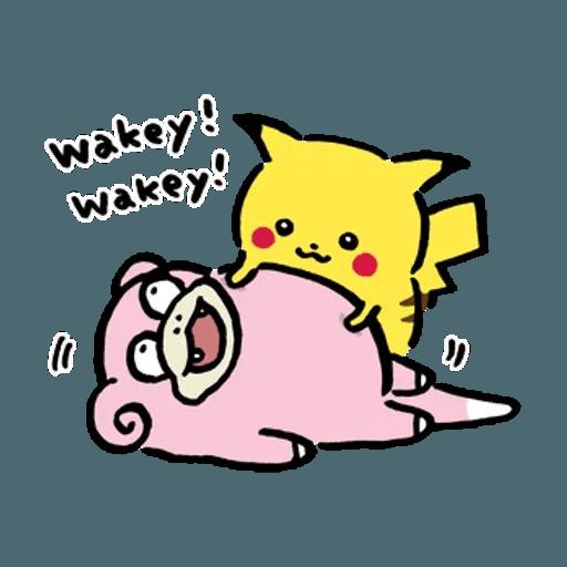 W bear Pokemon - Sticker 4