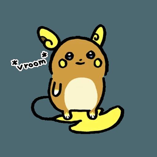 W bear Pokemon - Sticker 17