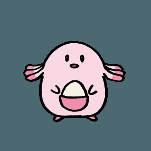 W bear Pokemon - Sticker 22