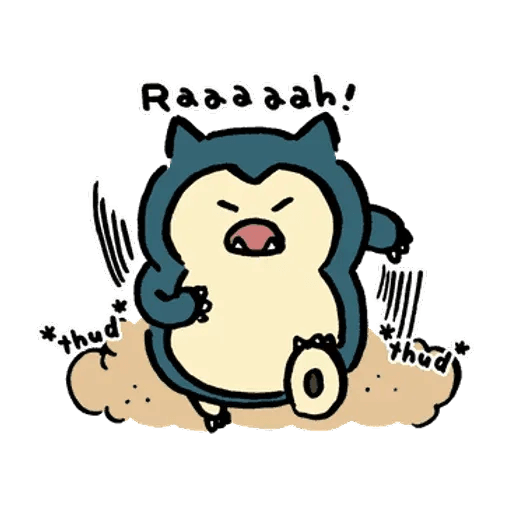 W bear Pokemon - Sticker 18