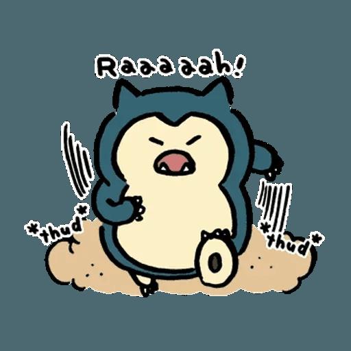 W bear Pokemon - Sticker 18