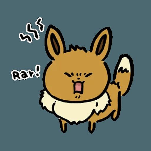 W bear Pokemon - Sticker 14
